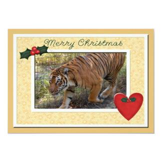 Tiger Bengali-c-146 copy 13 Cm X 18 Cm Invitation Card
