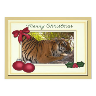 Tiger Bengali-c-147 copy 13 Cm X 18 Cm Invitation Card