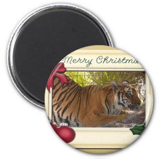 Tiger Bengali-c-147 copy 6 Cm Round Magnet