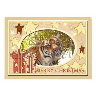"Tiger Bengali-c-148 copy 5"" X 7"" Invitation Card"