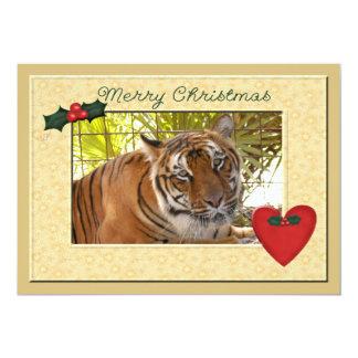 Tiger Bengali-c-149 copy 13 Cm X 18 Cm Invitation Card