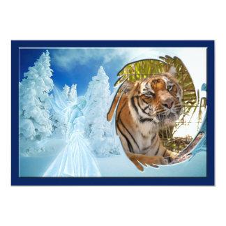 Tiger Bengali-c-15 copy 13 Cm X 18 Cm Invitation Card