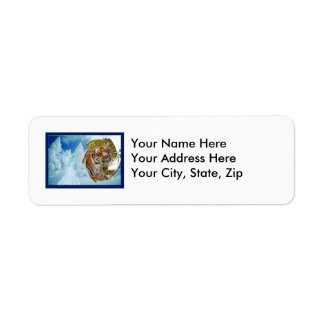 Tiger Bengali-c-15 copy Return Address Label