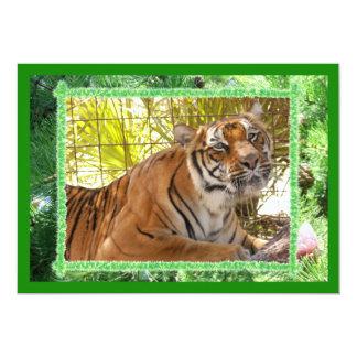 Tiger Bengali-c-19 copy 13 Cm X 18 Cm Invitation Card