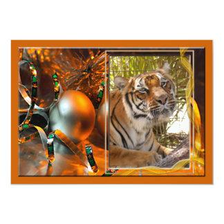 "Tiger Bengali-c-23 copy 5"" X 7"" Invitation Card"