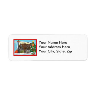 Tiger Bengali-c-2 copy Return Address Label