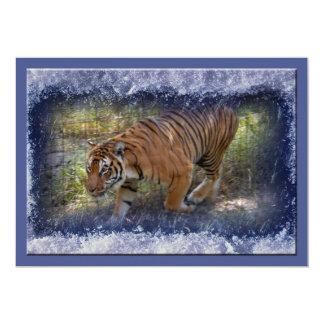 Tiger Bengali-c-31 copy 13 Cm X 18 Cm Invitation Card