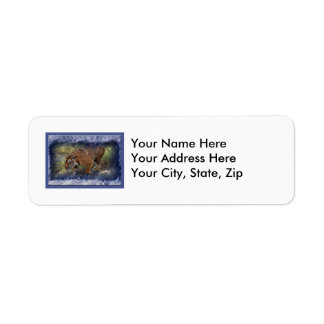 Tiger Bengali-c-31 copy Return Address Label