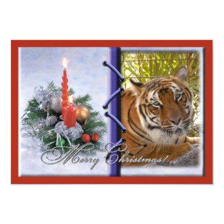 Tiger Bengali-c-40 copy 13 Cm X 18 Cm Invitation Card