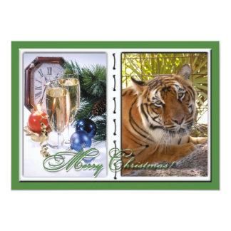 Tiger Bengali-c-50 copy 13 Cm X 18 Cm Invitation Card