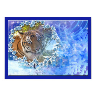 "Tiger Bengali-c-7 copy 5"" X 7"" Invitation Card"