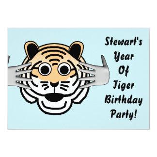 Tiger Birthday Invite