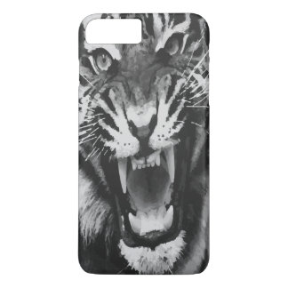 Tiger Black and White iPhone 7 Plus Case