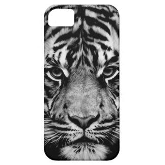 Tiger Black White Case For iPhone 5/5S