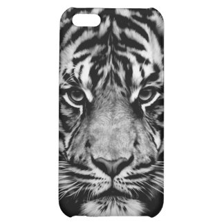 Tiger Black White Cover For iPhone 5C