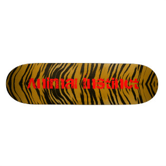 Tiger Board Animal Instinct 18.1 Cm Old School Skateboard Deck