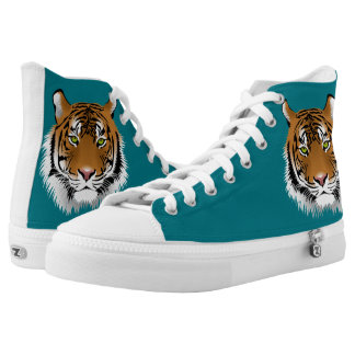 TIGER BOOTS PRINTED SHOES