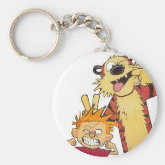 tiger boy keychain
