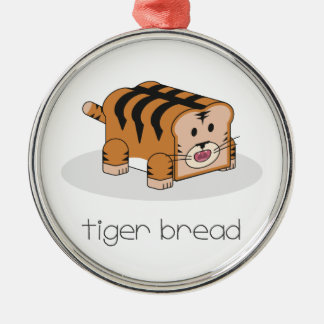 Tiger Bread Christmas Ornament