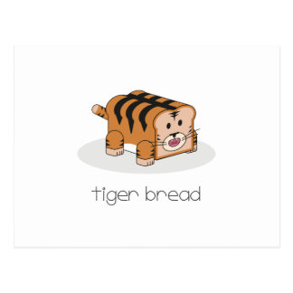 Tiger Bread Postcard