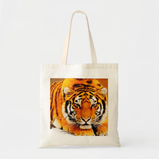Tiger Budget Tote Budget Tote Bag