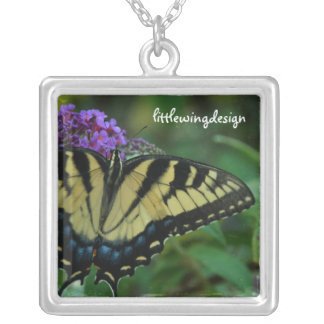 Tiger Butterfly Necklace