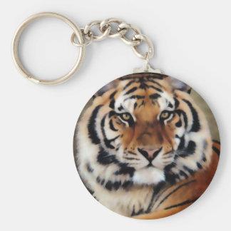 Tiger by Psyco Key Ring