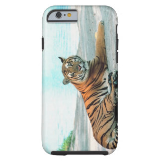 Tiger by river tough iPhone 6 case