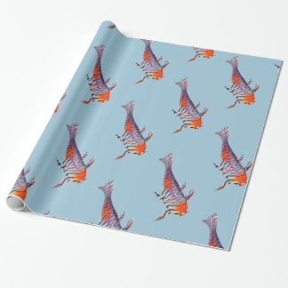 Tiger Carp Shoal Wrapping Paper