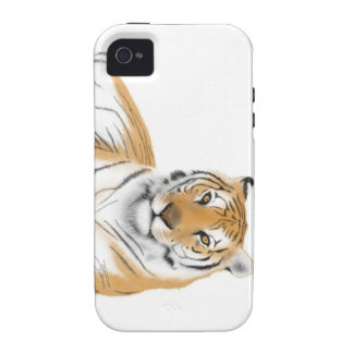 Tiger Vibe iPhone 4 Covers