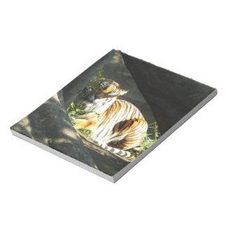 Tiger Catnap Notepad