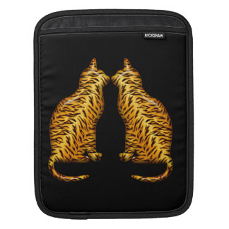 Tiger Cats Sleeve For iPads