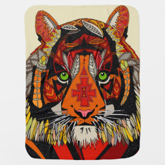 tiger chief natural baby blanket