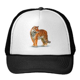 tiger-clip-art trucker hat