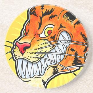 Tiger Coaster - Grin