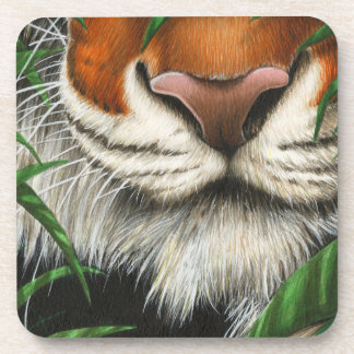 Tiger Cork Coaster