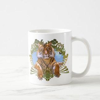 Tiger Crest Endangered Species Coffee Mug