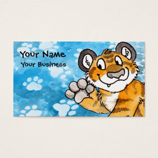Tiger Cub Business Card