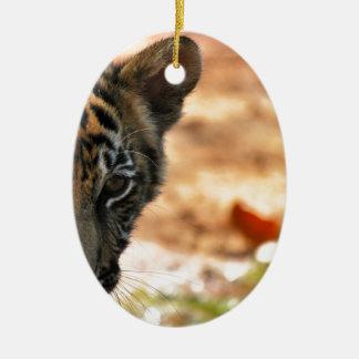 Tiger Cub Christmas Ornament