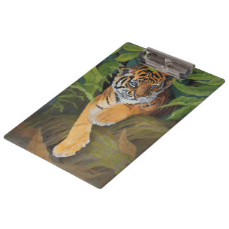 Tiger Cub Clipboard