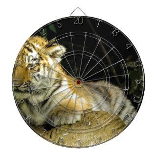 Tiger cub dartboard