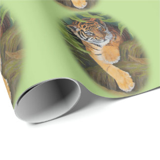 """Tiger Cub Matte Wrapping Paper, 30"""" x 6' Wrapping Paper"""