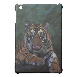 Tiger Cub Reclines on Rock Cover For The iPad Mini