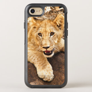 Tiger Cub Takes Breather On A Rock OtterBox Symmetry iPhone 8/7 Case