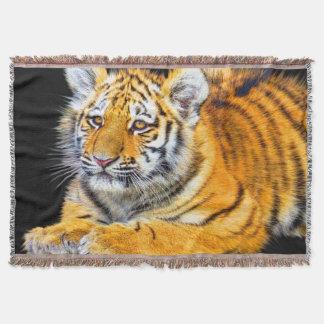 Tiger Cub Throw Blanket