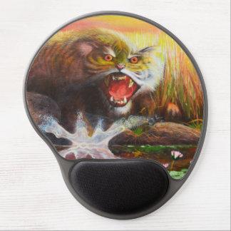 Tiger cub - Wild animal gel Mousepad Gel Mouse Mat
