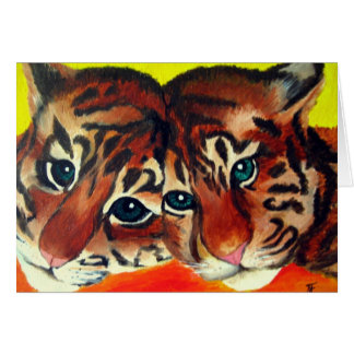 Tiger Cubs Card