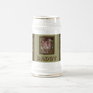 Tiger Daddy Coffee Mugs