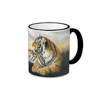 Tiger Dawn Ringer Mug