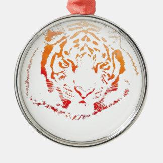 Tiger Design Christmas Ornament